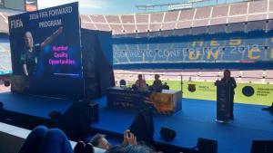 Chairing Isokinetic June 2018 Barcelona Stadium